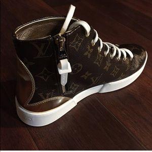 da8e902dafb6 Louis Vuitton Shoes - LOUIS VUITTON STELLAR SNEAKER BOOT